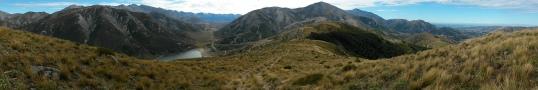 Porters Pass panorama