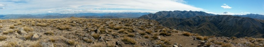 Mt Somer's summit panorama