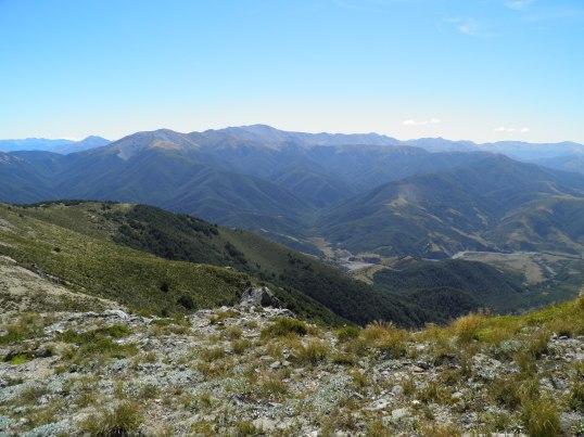 Following the ridgeline