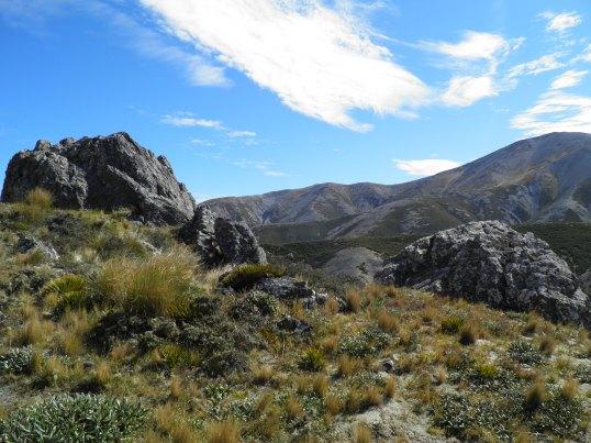 Rocky outcrops