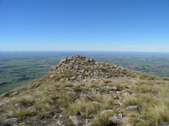 The lower ridge above the Canterbury Plains