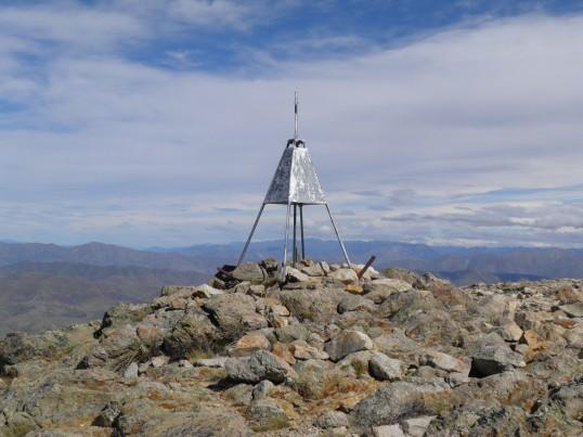 Mt Somer's trig
