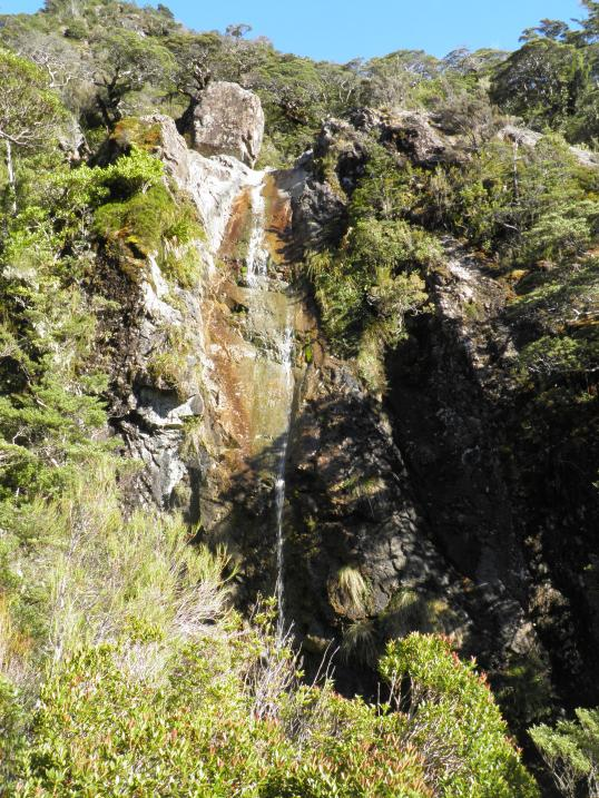 Avalanche Creek waterfall