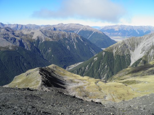 Views over Arthur's Pass National Park