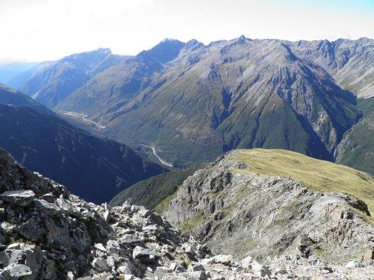 Bluffs in Arthur's Pass National Park