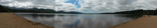 Loch Morlich from the western shore