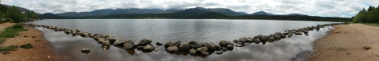 Loch Morlich from the southern shore