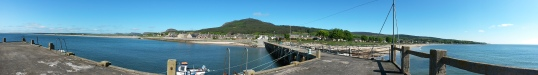 Golspie from the pier