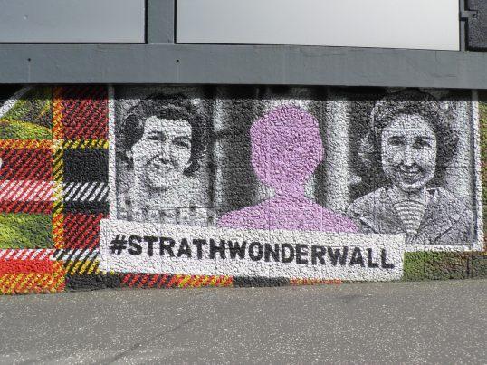 Strathclyde Wonderwall, Artist Unknown