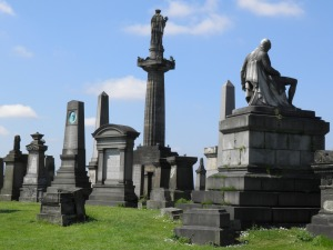 Monuments in Glasgow Necropolis