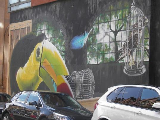 Big Birds, Artist Unknown