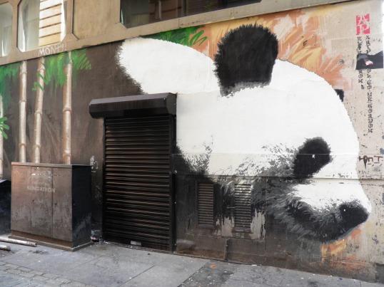 Glasgow's Panda, Artist Unknown
