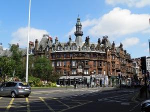 Corner of Sauchiehall Street