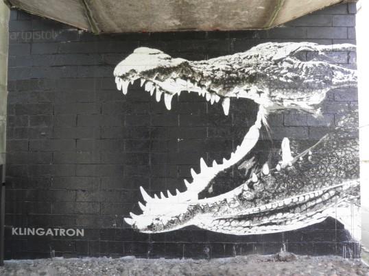 Glesga Crocodile, Klingatron & Art Pistol