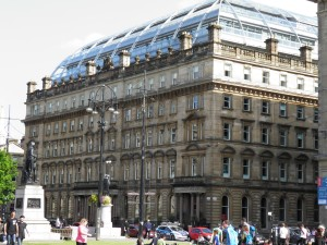Buildings around George Square