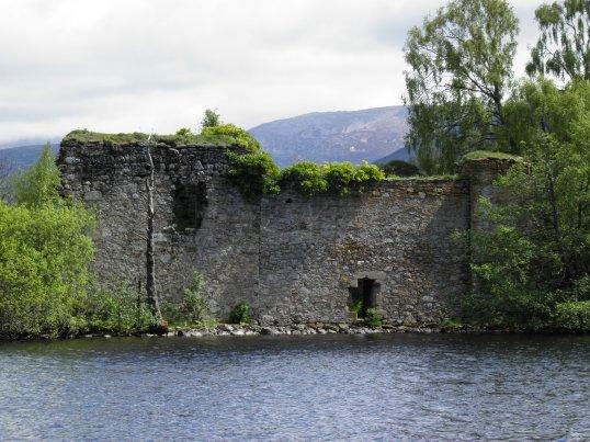 Castle on the island, Loch An Eilein