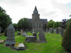 Dornoch Cathedral and graveyard