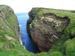 Coastline at Duncansby Head