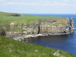 Coastline at Duncansby Heads