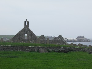 Lady Kirk in Pierowall