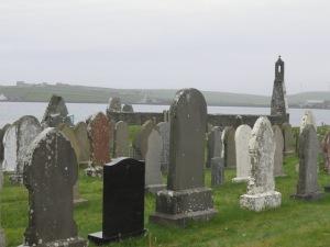 Graveyard at Lady Kirk