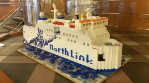 Lego model of North Link ferry