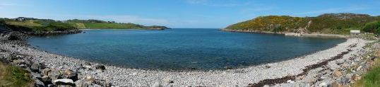 Stony beach at Scourie
