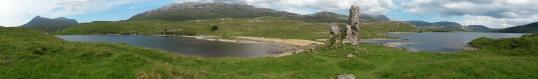 Loch Assynt panorama
