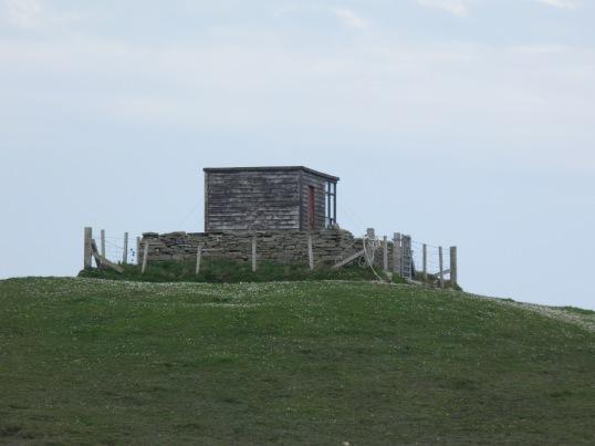 Bird hide, North Hill RSPB reserve
