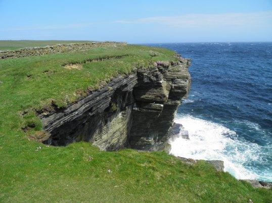 Cliffs at Fowl Craig