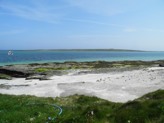 Holm of Papa from South Wick Bay