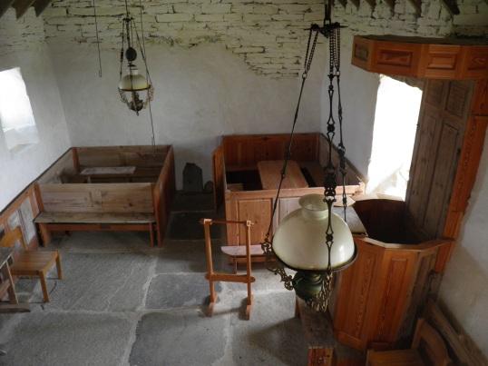 Inside St Boniface Kirk