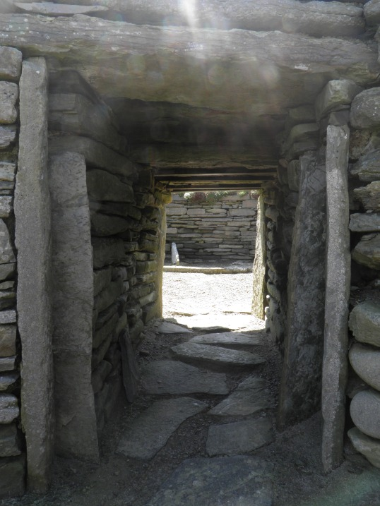 Passage between the two houses
