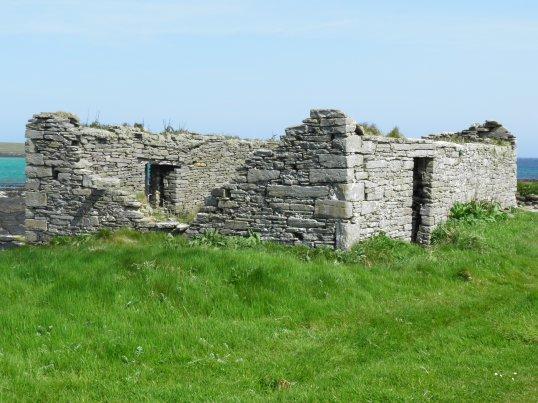 Ruins on the east coast track