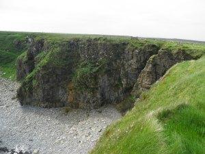 Clifftop walk