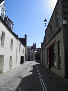 Narrow street of Stromness