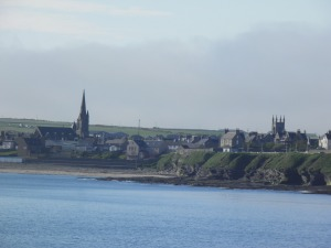 Thurso seen from Scrabster