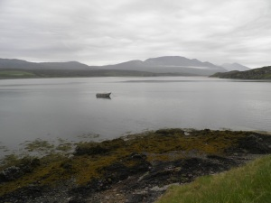 Keoldale with the Cape Wrath boat