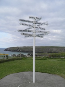 Distance marker, Durness