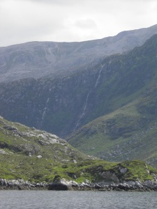 Britain's highest waterfall, Eas a' Chual Aluinn
