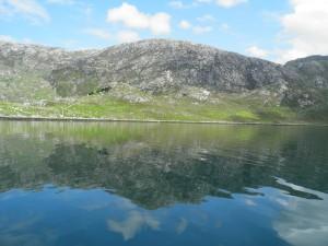 Reflections on Loch Gleann Dubh