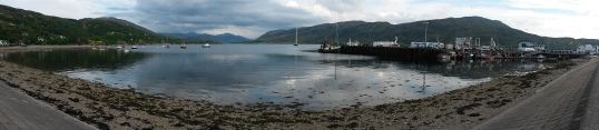 View from Ullapool's front street