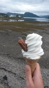 Ice cream at Plockton