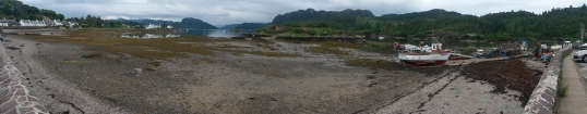 Plockton at low tide