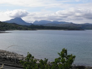 Gairloch from the caravan park