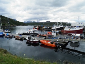 Charlestown harbour, Gairloch