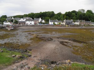 Tide out at Plockton