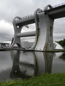 Reflections at the Falkirk Wheel