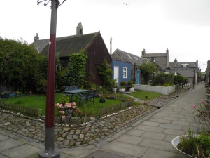 Footdee in Aberdeen