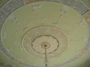 Ceiling detail in Culzean Castle